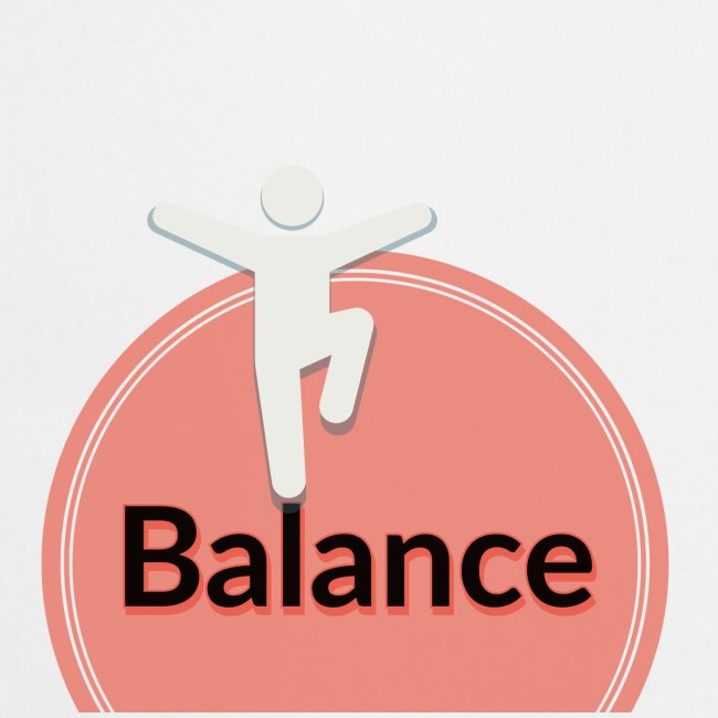Balance pink black