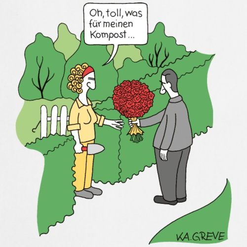 Lasst Blumen sprechen - Kochschürze
