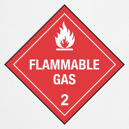 Flammable Gas - Cooking Apron