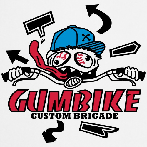 gumbike-monster - Tablier de cuisine