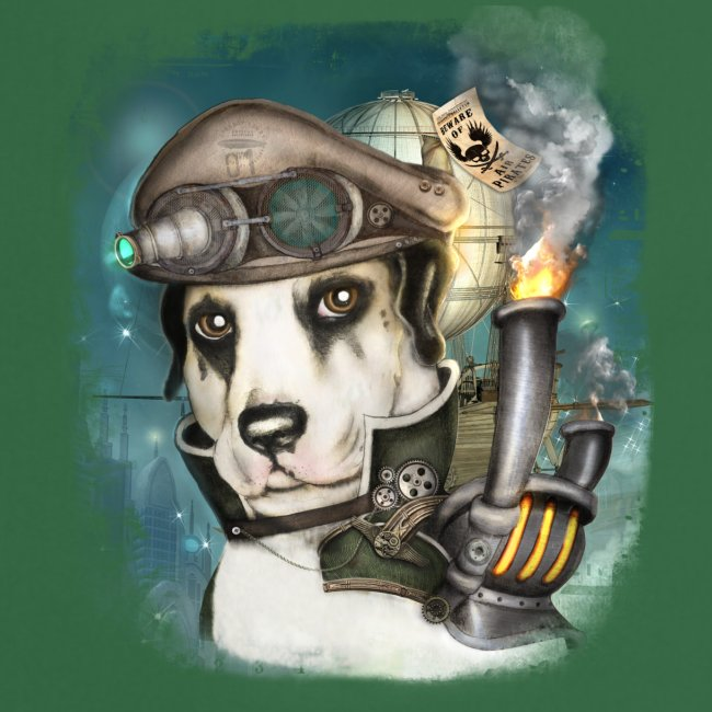 Steampunk Dog #2b