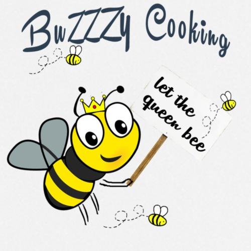 Save the bees with this cute design! Steun de bij - Keukenschort