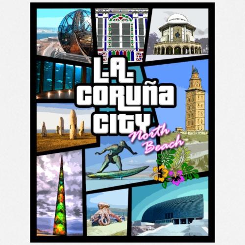 CORUÑA CITY NORTH BEACH - Delantal de cocina