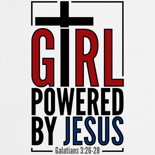 Girl powered by Jesus