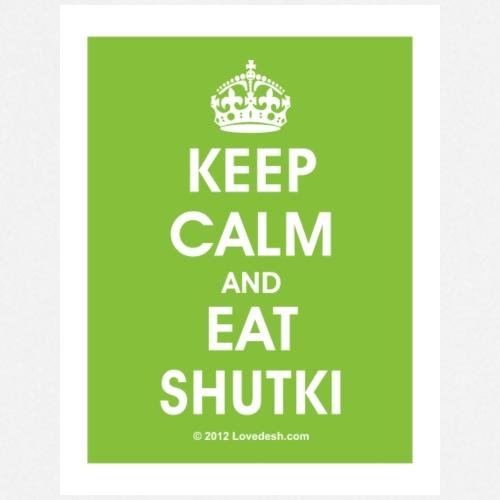 Keep Calm Series: Shukti - Cooking Apron