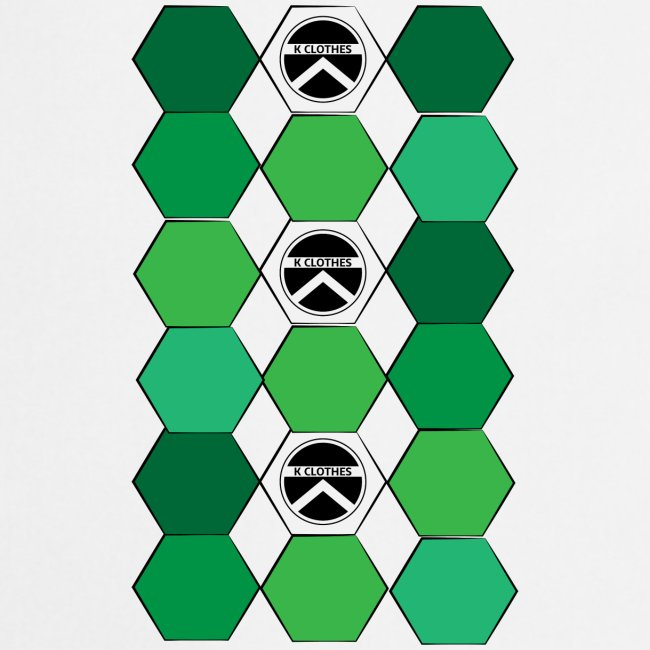 |K·CLOTHES| HEXAGON ESSENCE GREENS & WHITE