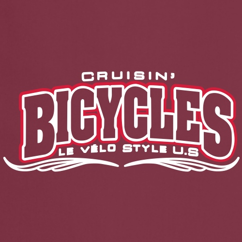 logo cruisin bicycles chris3 - Tablier de cuisine