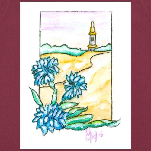 Landschaftsblume - Kochschürze