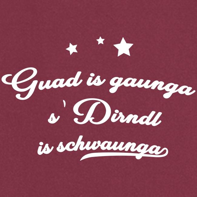 Vorschau: Guad is gaunga s'Dirndl is schwaunga - Kochschürze