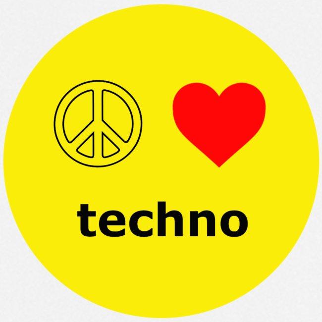 paz amor techno