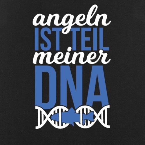 Angeln ist Teil meiner DNA (Weiß / Blau) - Kochschürze