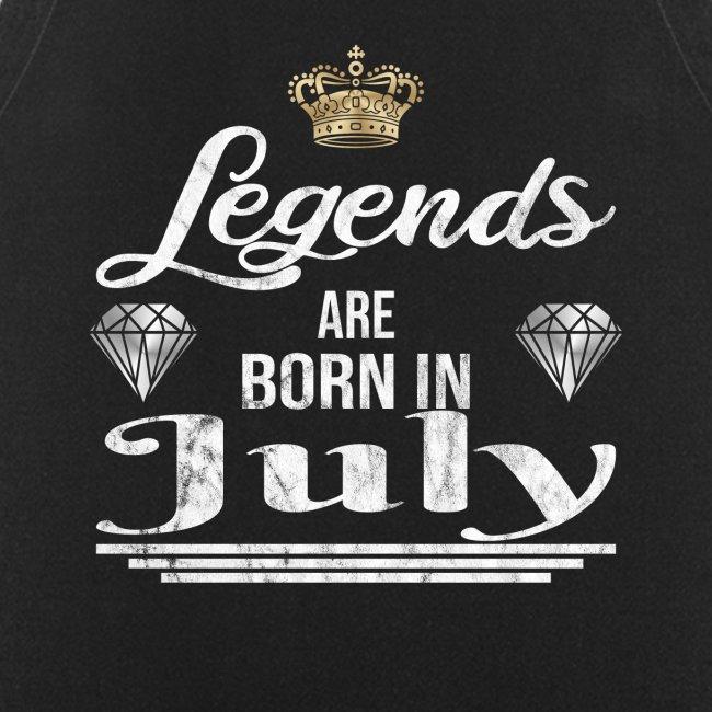 Legends are born in July Geburtstag im Juli