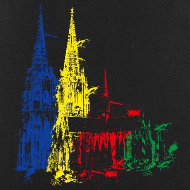 Kölner Dom, Farbexplosion