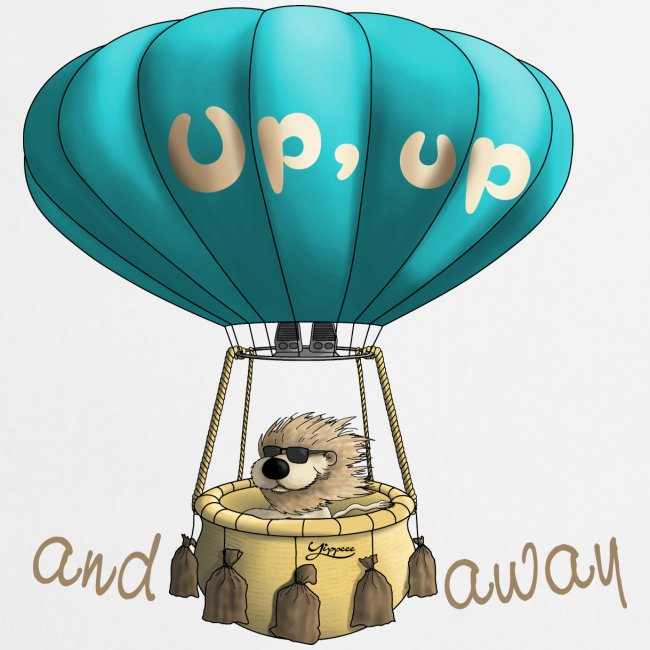 Up up and away - Auf und davon