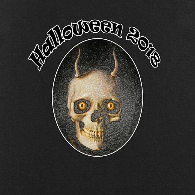 Halloween 2018 Horned Devil Skull