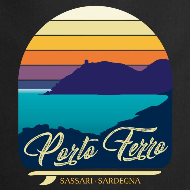 Porto Ferro - Vintage travel sunset