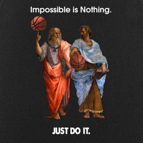 Platon und Aristoteles - Kochschürze