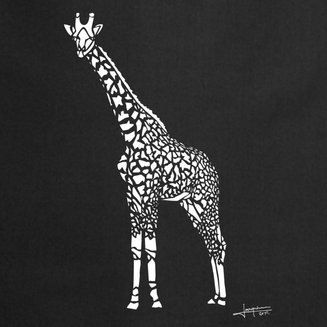 White Girafe by Joaquín