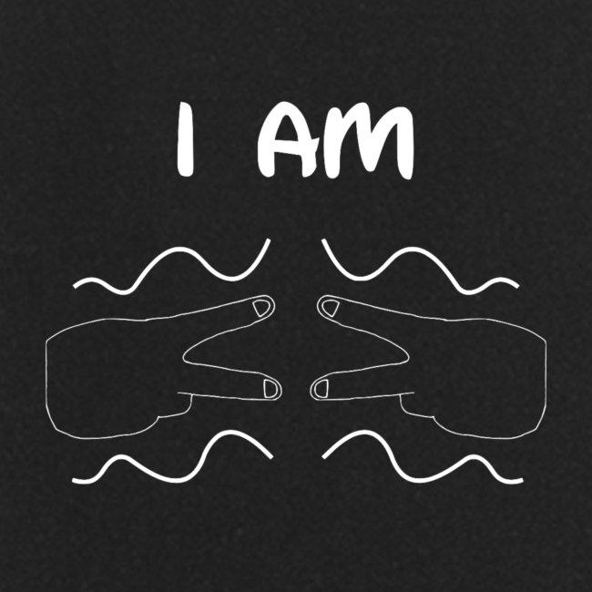 I Am Autism (White)