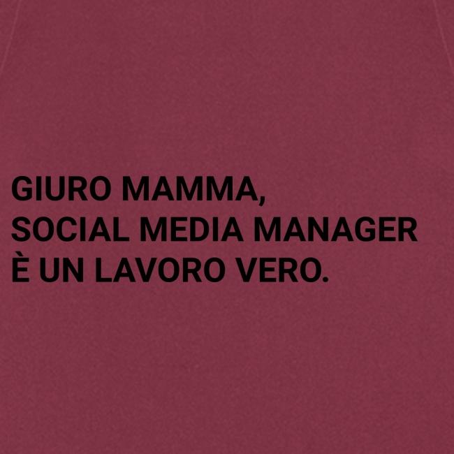 Giuro Mamma - Social media manager