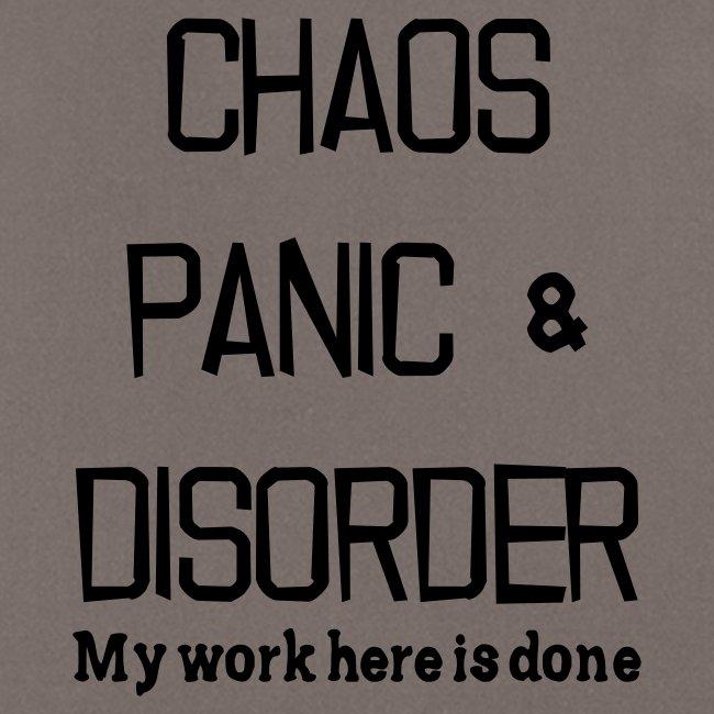 Chaos Panic & Disorder