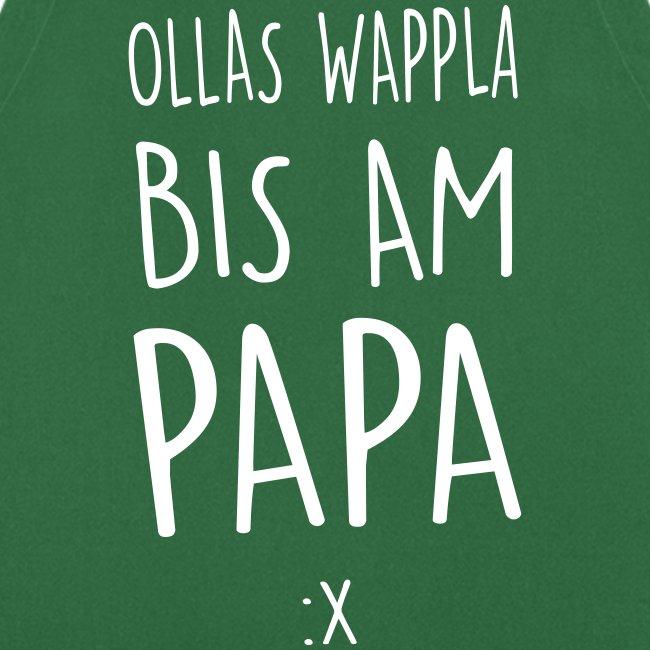 Vorschau: Ollas Wappla bis am Papa - Kochschürze
