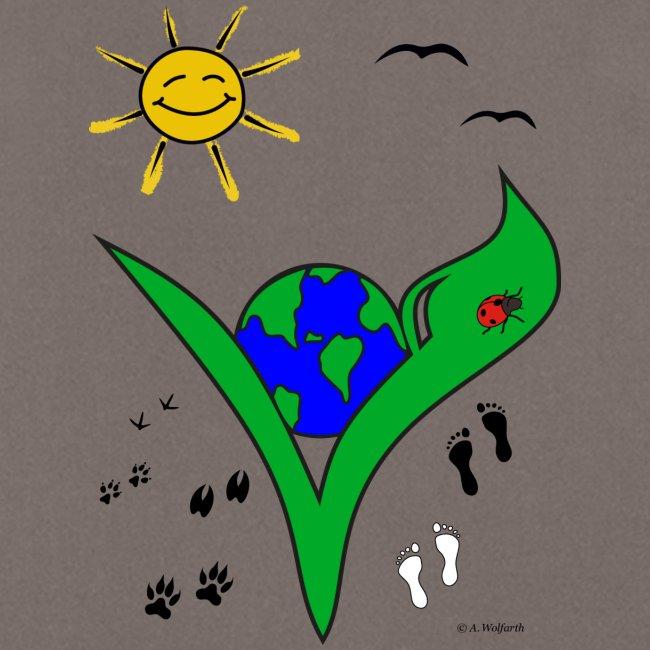 Ein Logo geht um die Welt