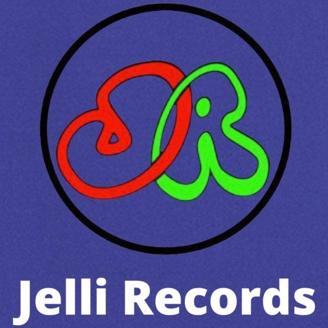 Jelli Records white writing