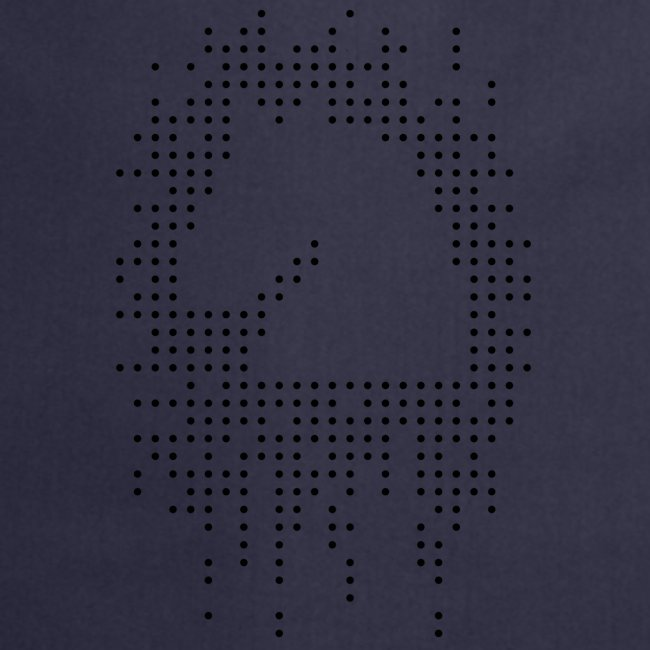 Knight and Dots Inverted