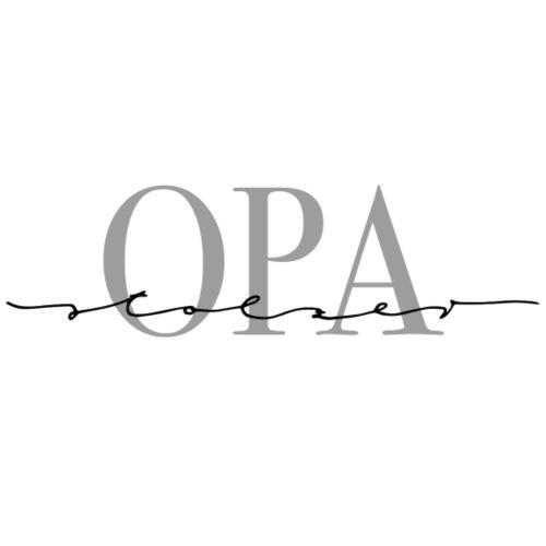 Stolzer Opa – Oma & Opa Kollektion - Kochschürze