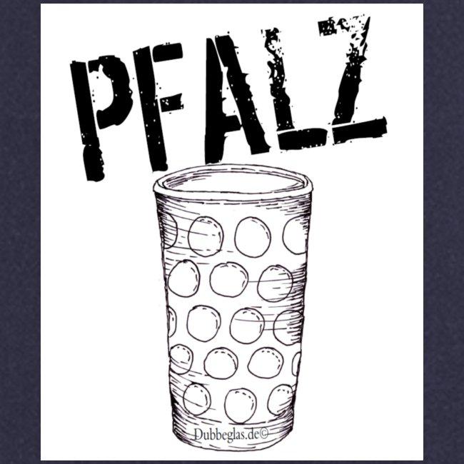Pfalzshirt mit Dubbeglas, weiß
