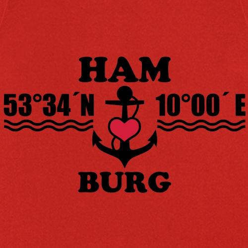 Hamburg Koordinaten Anker 2c B - Kochschürze