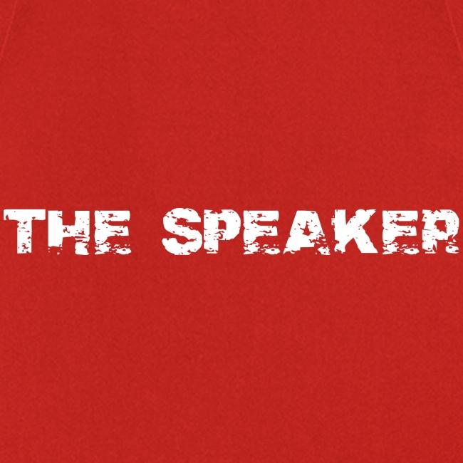 the speaker - der Sprecher