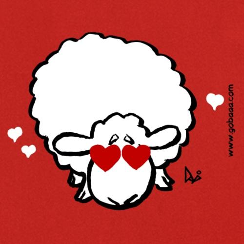 Eye Love Ewe (rød udgave) - Forklæde