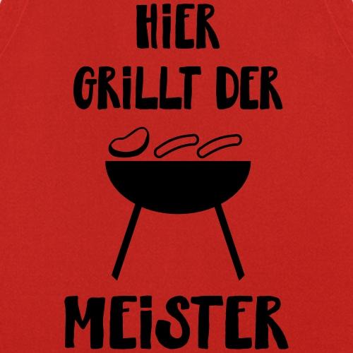Grillen Barbecue Männer Geschenk Spruch - Kochschürze