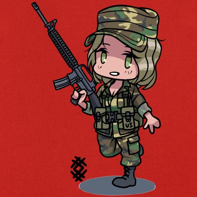 M81 BDU girl