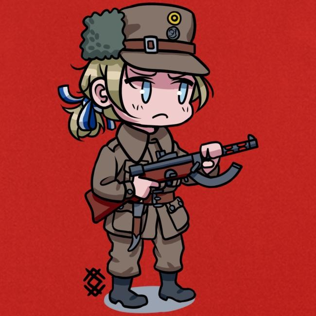 Chibi Finnish civil guard