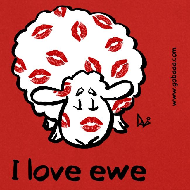 Kiss Ewe (I love ewe edition)