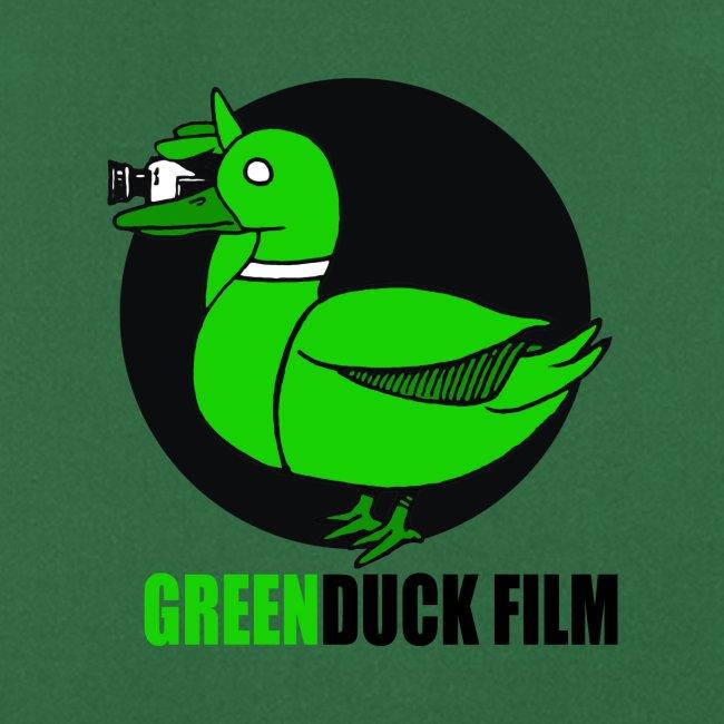 Greenduck Film Logo w. black letters