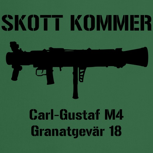 Skott Kommer CGM4 - Förkläde