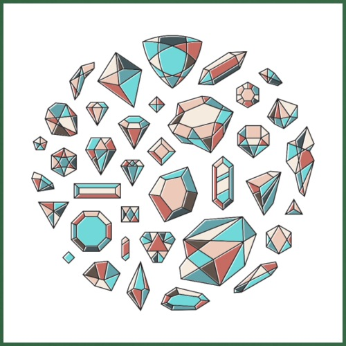 37 diamond shapes 03 jpg - Kokkeforkle