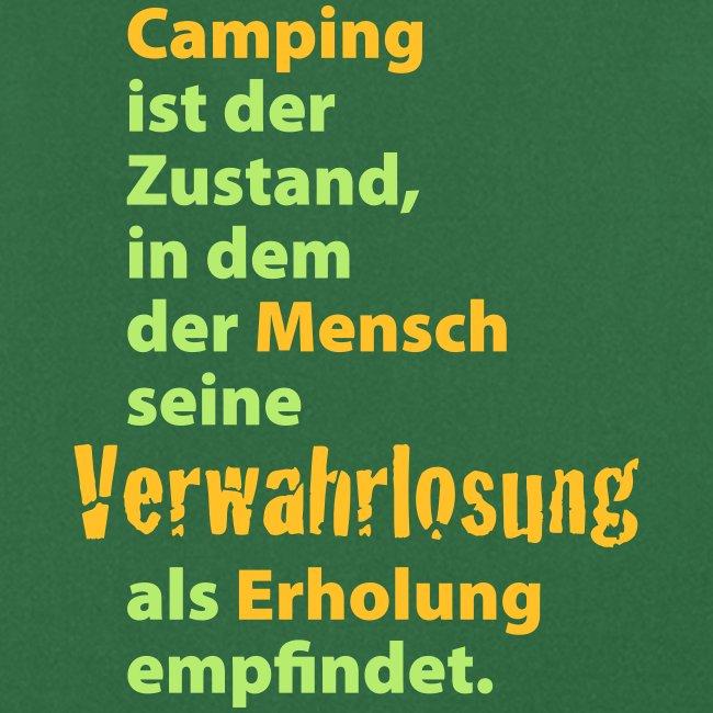Camping Verwahrlosung Zuhause Zelten Urlaub Ferien
