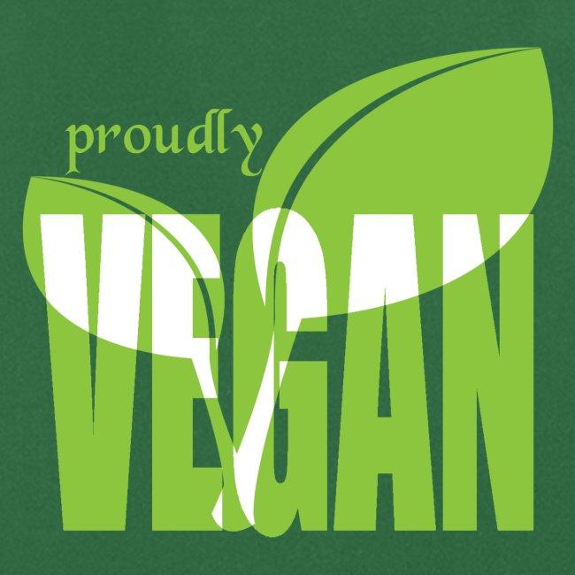 proudly vegan