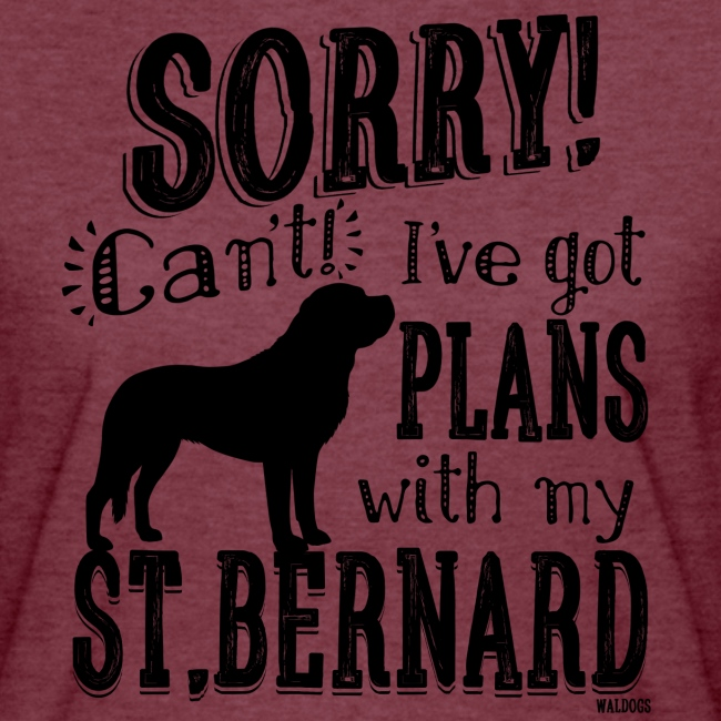 St.Bernard Plans Black