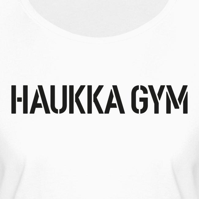 HAUKKA GYM text