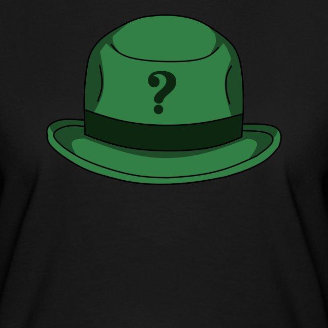 Grüner Rätsel Hut Riddler