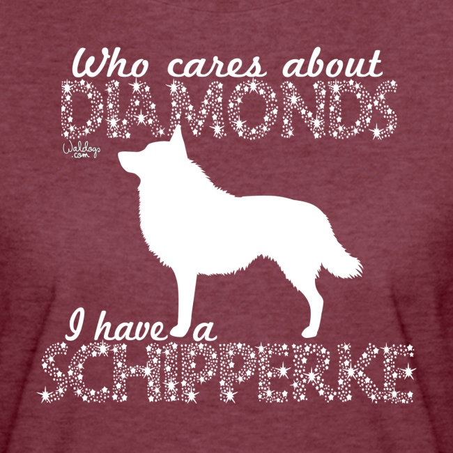 Schipperke Diamonds I