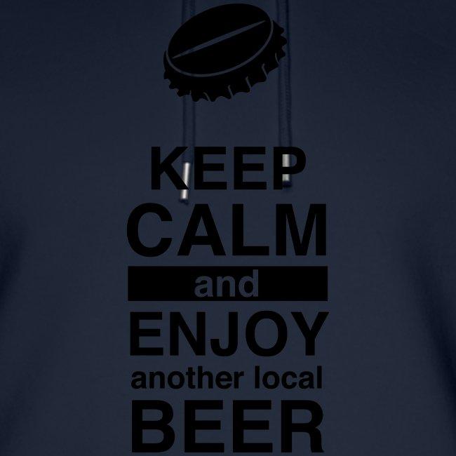 Keep calm and enjoy local beer