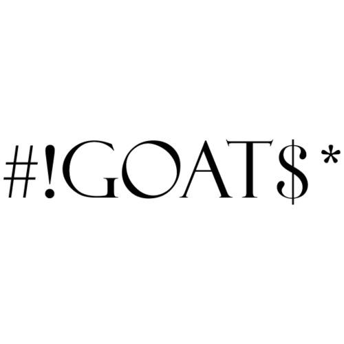 Goat - Stanley & Stella unisex hoodie af økologisk bomuld