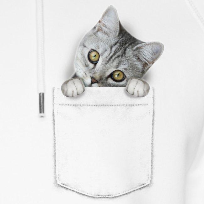 Vorschau: cat pocket - Unisex Bio-Hoodie von Stanley & Stella